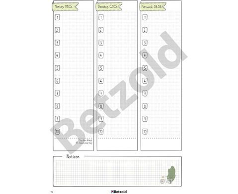 Betzold Design-Schulplaner 2018-2019 Hardcover-8