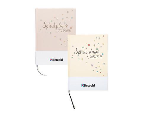 Betzold Design-Schulplaner 2020/2021, Hardcover, DIN A4 plus