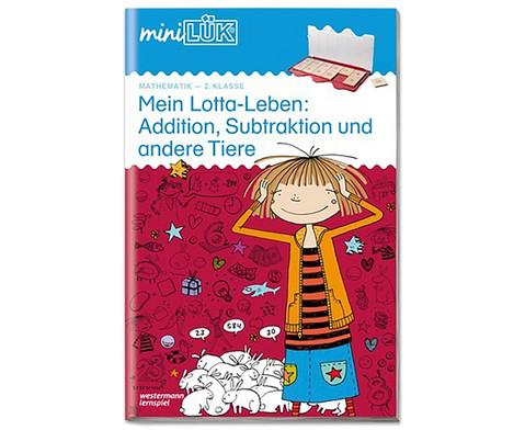 miniLUEK Mein Lotta-Leben Addition Subtraktion und andere Tiere