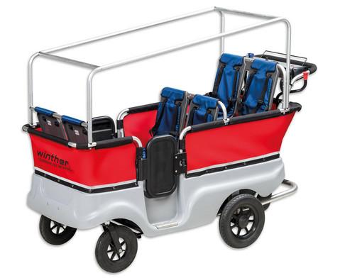 Kindergarten-Bus mit Motor