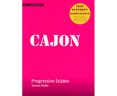 Cajon - Progressive Etueden