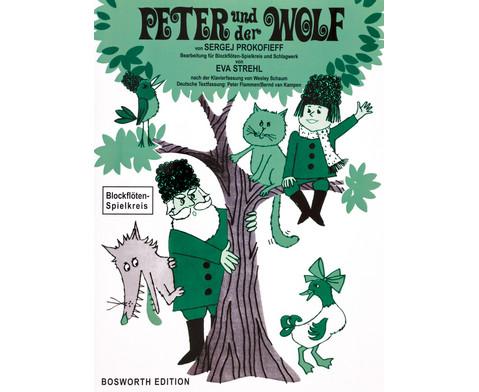 Blockfloeten-Spielkreis Peter und der Wolf
