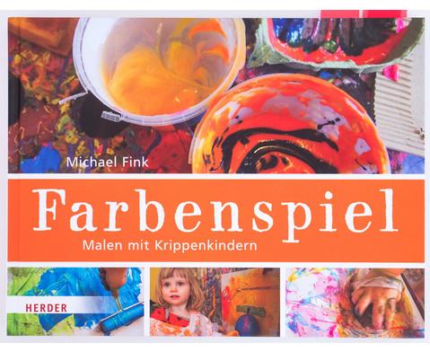 Farbenspiel - Malen mit Krippenkindern