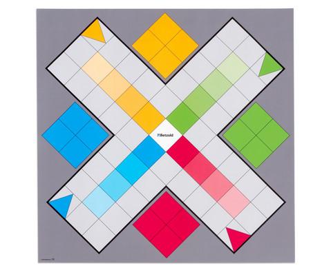 Spielplane - Ludo 75 x 75 cm