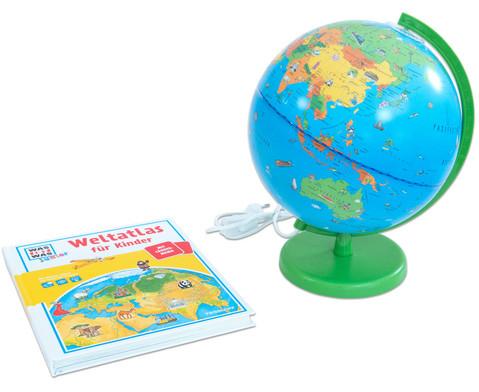 Was ist Was - Columbus Globus Reise um die Erde
