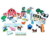 Bauernhof- und Traktor-Set