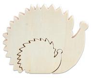 Holzfigur Igel, 2 in 1