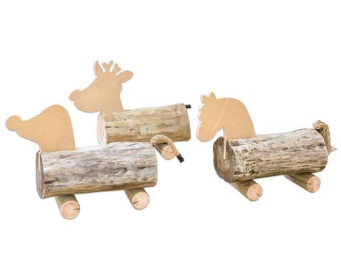Baumstamm Tiere