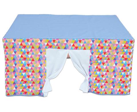 Tischzelt bunt