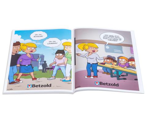 Cartoon-Buch Schule-3
