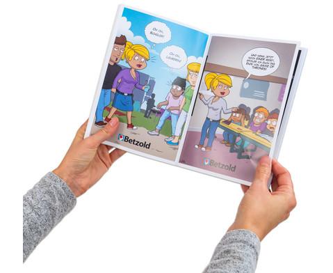 Cartoon-Buch Schule-5