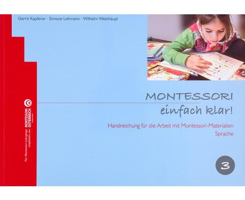 Montessori einfach klar - Band 3