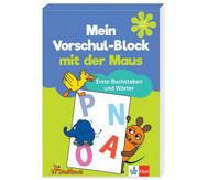 Vorschul-Block mit der Maus - Buchstaben und Wörter