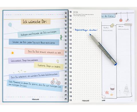 Betzold Design-Schulplaner 2019-2020 Ringbuch DIN A4-10