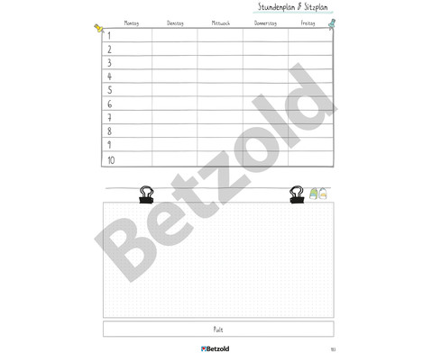 Betzold Design-Schulplaner 2019-2020 Ringbuch DIN A4-21
