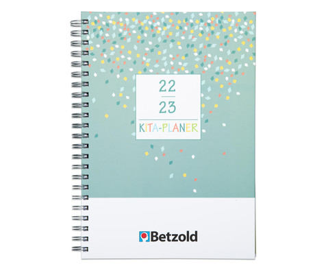 Betzold Design-Kita-Planer Ringbuch DIN A4 plus