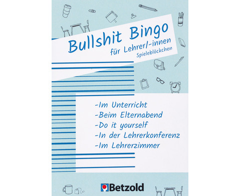 Bullshit-Bingo fuer Lehrer-innen Spielebloeckchen-1