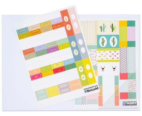 Betzold Index-Sticker fuer Kalender und Planer