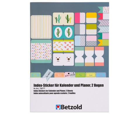 Index-Sticker fuer Kalender und Planer-2