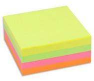 Haftnotizwürfel, 320 Blatt, Neon Mix