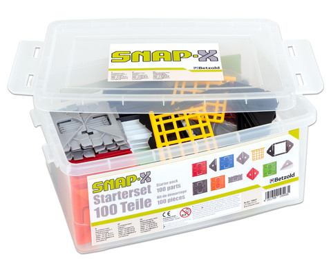SNAP-X Starterset 100 Teile