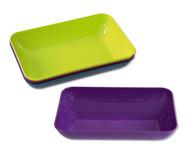 Materialschalen in modernen Farben, 4 Stück groß