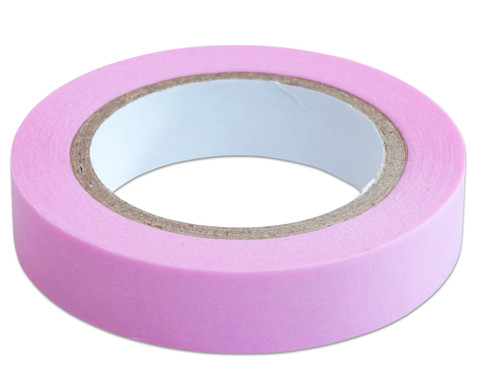Washi Tape Set aus 5 Rollen Uni Pastell-8