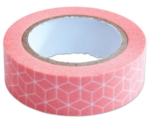 Washi Tape aus 4 Rollen Geometrisch-7