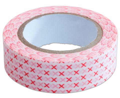 Washi Tape aus 4 Rollen Geometrisch-9