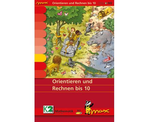 Max Lernkarten Orientieren und Rechnen bis 10
