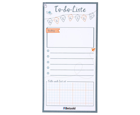 To-do-Liste-Abreissblock 60 Seiten