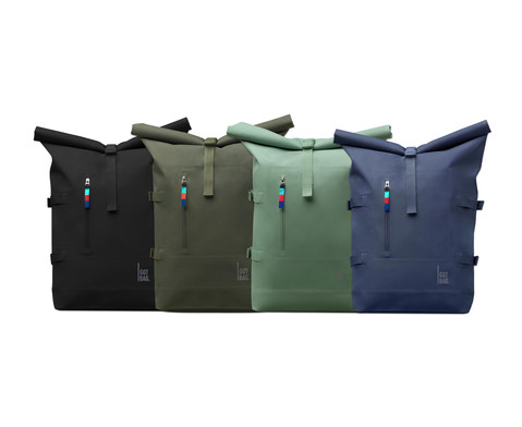 GOT BAG Rolltop Rucksack aus recyceltem Meeresplastik