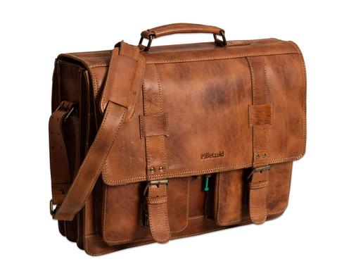 Betzold Lehrertasche Promero aus Leder braun