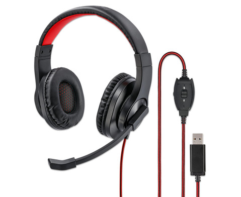 Hama PC-Office-Headset HS-USB400 Stereo
