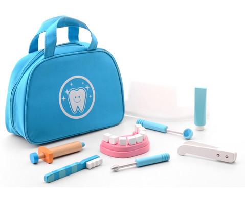 Zahnarzttasche mit Zubehoer 17-tlg
