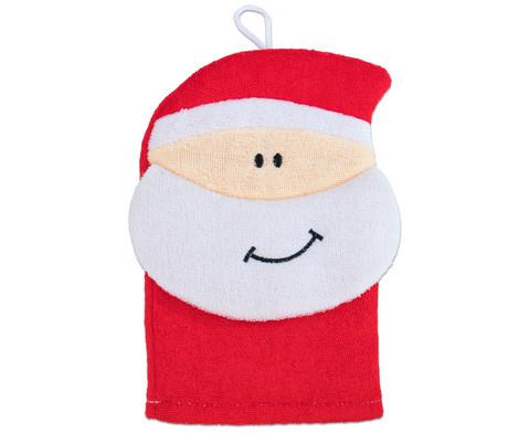 Waschhandschuh Nikolaus