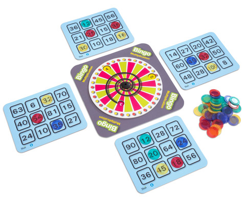 Einmaleins Bingo - Multiplikation