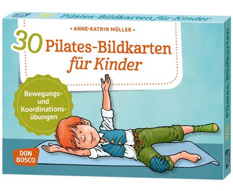 Pilates - 30 Bildkarten fuer Kinder