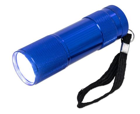 LED Taschenlampe blau