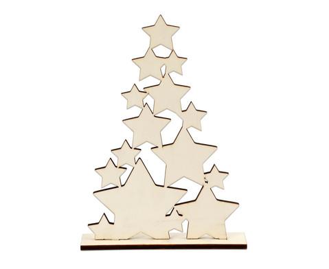 Weihnachtsbaum aus Sternen ca 298 cm hoch