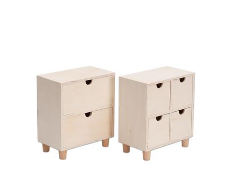 Tischkommode aus Holz