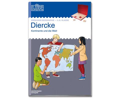 LUEK Diercke Erdkunde 5-6 Klasse Kontinente und die Welt