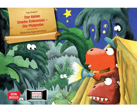 Der kleine Drache Kokosnuss - Die Mutprobe Kamishibai-Bildkartenset