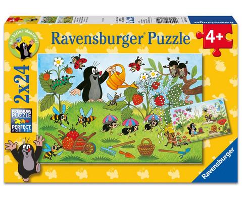 Ravensburger Puzzle Der Maulwurf im Garten 2er-Set