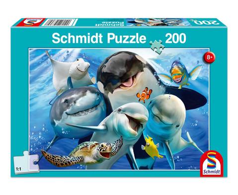 Puzzle Unterwasser-Freunde 200 Teile