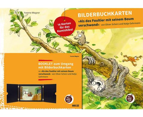 Bilderbuchkarten Als das Faultier mit seinem Baum verschwand