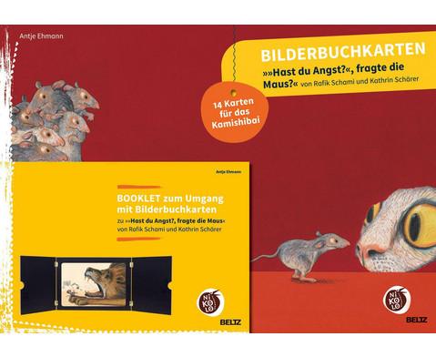 Bilderbuchkarten Hast du Angst fragte die Maus
