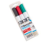Betzold Whiteboard-Marker, 3er-Set