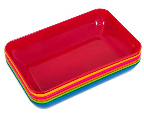 Betzold Materialschalen 6 Stueck Groesse und Farbset waehlbar