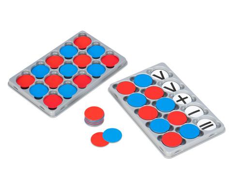 Magnetische Wendeplaettchen mit oder ohne Rechenzeichen